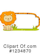 Lion Clipart #1234870 by BNP Design Studio