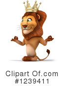 Lion Clipart #1239411 by Julos