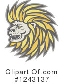 Lion Clipart #1243137 by patrimonio