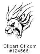 Lion Clipart #1245661 by AtStockIllustration
