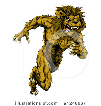 Lion Clipart #1248667 by AtStockIllustration