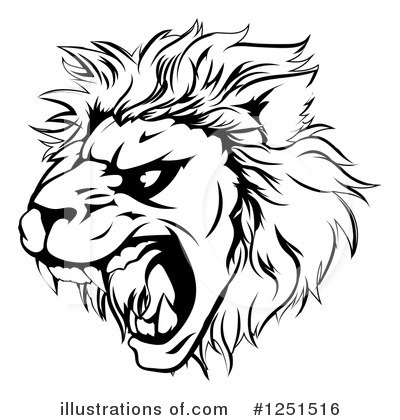 Lion Clipart #1251516 by AtStockIllustration
