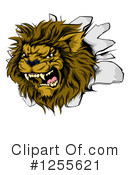 Lion Clipart #1255621 by AtStockIllustration