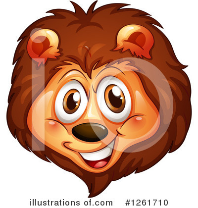 Lion Clipart #1261710 by Graphics RF