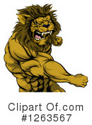 Lion Clipart #1263567 by AtStockIllustration