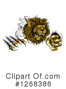 Lion Clipart #1268386 by AtStockIllustration
