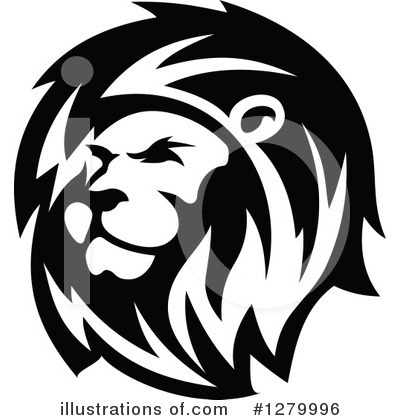 Lion Clipart #1279996 by Vector Tradition SM