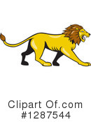 Lion Clipart #1287544 by patrimonio
