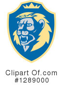 Lion Clipart #1289000 by patrimonio
