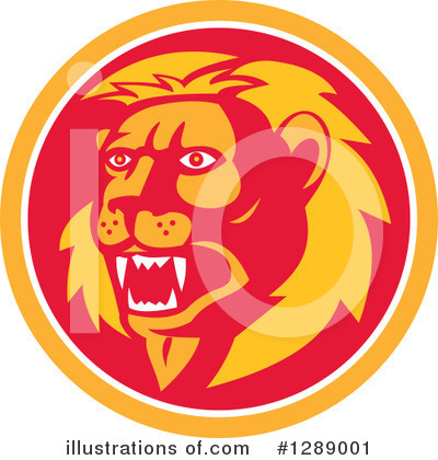 Lion Clipart #1289001 by patrimonio