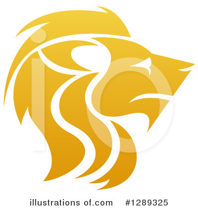Lion Clipart #1289325 by AtStockIllustration