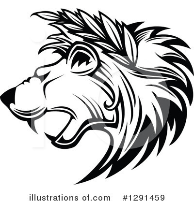 Lion Clipart #1291459 by Vector Tradition SM