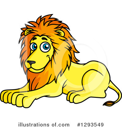 Lion Clipart #1293549 by Vector Tradition SM