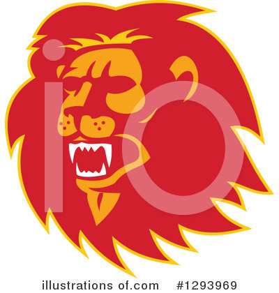Lion Clipart #1293969 by patrimonio