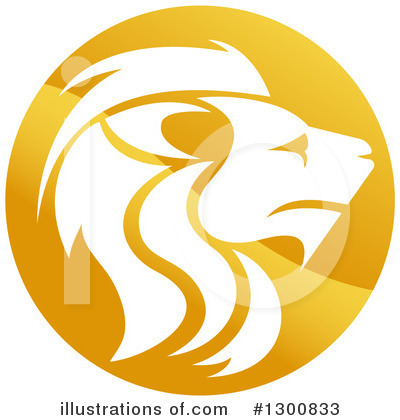 Lion Clipart #1300833 by AtStockIllustration