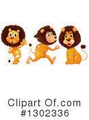Lion Clipart #1302336 by Graphics RF