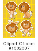 Lion Clipart #1302337 by Graphics RF