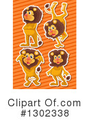 Lion Clipart #1302338 by Graphics RF