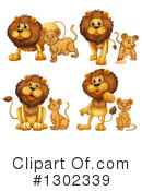 Lion Clipart #1302339 by Graphics RF