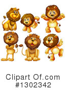 Lion Clipart #1302342 by Graphics RF
