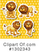 Lion Clipart #1302343 by Graphics RF