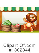 Lion Clipart #1302344 by Graphics RF
