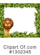Lion Clipart #1302345 by Graphics RF