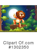 Lion Clipart #1302350 by Graphics RF