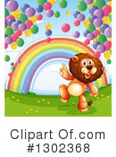 Lion Clipart #1302368 by Graphics RF