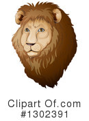 Lion Clipart #1302391 by Graphics RF