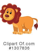 Royalty-Free (RF) Lion Clipart Illustration #1307836