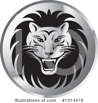 Lion Clipart #1314479 by Lal Perera
