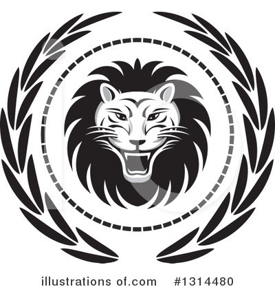 Lion Clipart #1314480 by Lal Perera