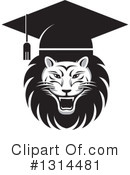 Royalty-Free (RF) Lion Clipart Illustration #1314481
