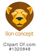 Lion Clipart #1320848 by AtStockIllustration