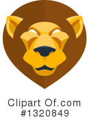 Lion Clipart #1320849 by AtStockIllustration