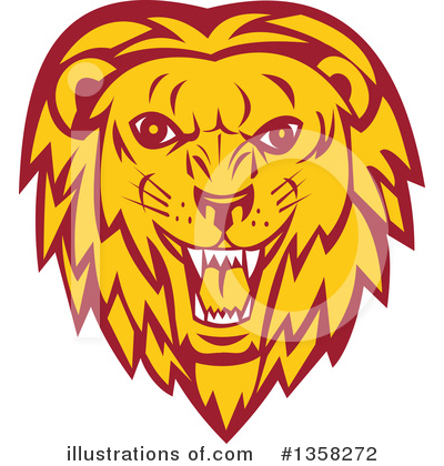 Lion Clipart #1358272 by patrimonio