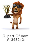 Lion Clipart #1363213 by Julos