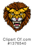 Lion Clipart #1376540 by AtStockIllustration