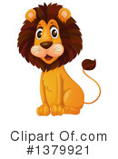 Lion Clipart #1379921 by Graphics RF