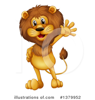 Lion Clipart #1379952 by Graphics RF