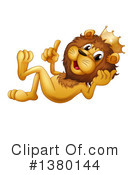 Lion Clipart #1380144 by Graphics RF