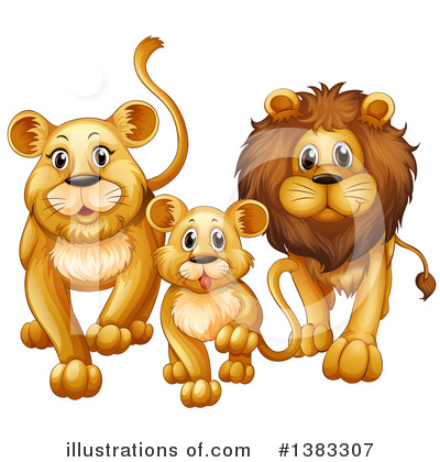 Zoo Animals Clipart #1383307 by Graphics RF