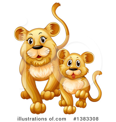 Zoo Animals Clipart #1383308 by Graphics RF