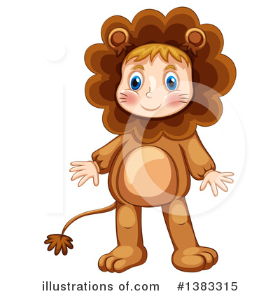 Lion Clipart #1383315 by Graphics RF