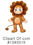 Royalty-Free (RF) Lion Clipart Illustration #1383315