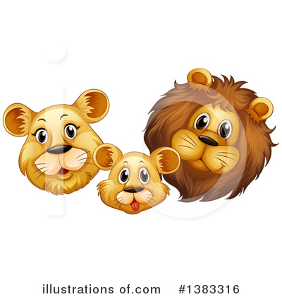 Lion Clipart #1383316 by Graphics RF