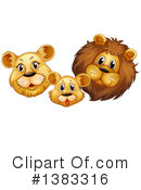 Royalty-Free (RF) Lion Clipart Illustration #1383316