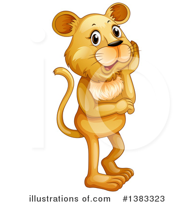 Lion Clipart #1383323 by Graphics RF