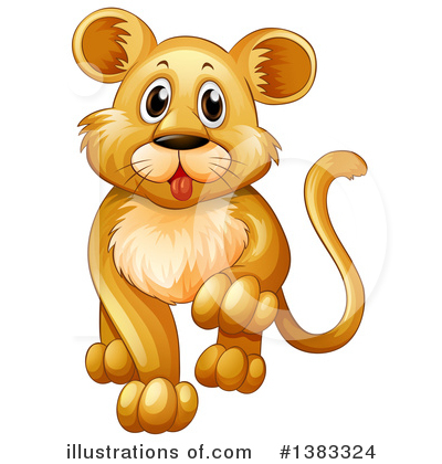 Lion Clipart #1383324 by Graphics RF